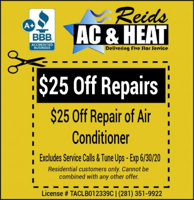 Air Conditioning Repair Coupon