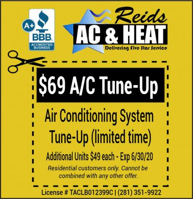 Air Conditioner Tune Up Special