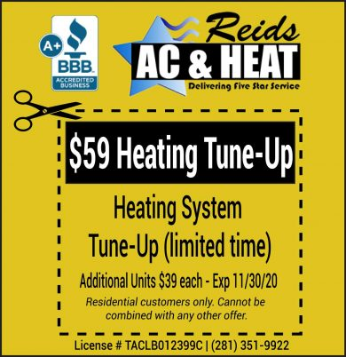 Heating System Tune Up Special